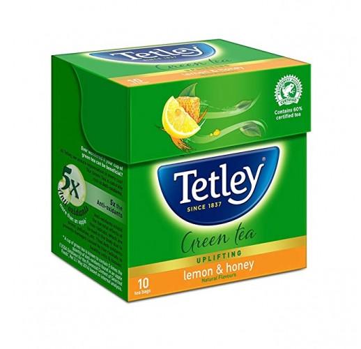 Tetley Green Tea with Lemon & Honey